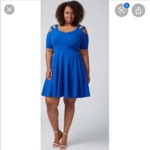 Blue Lane Bryant Dress